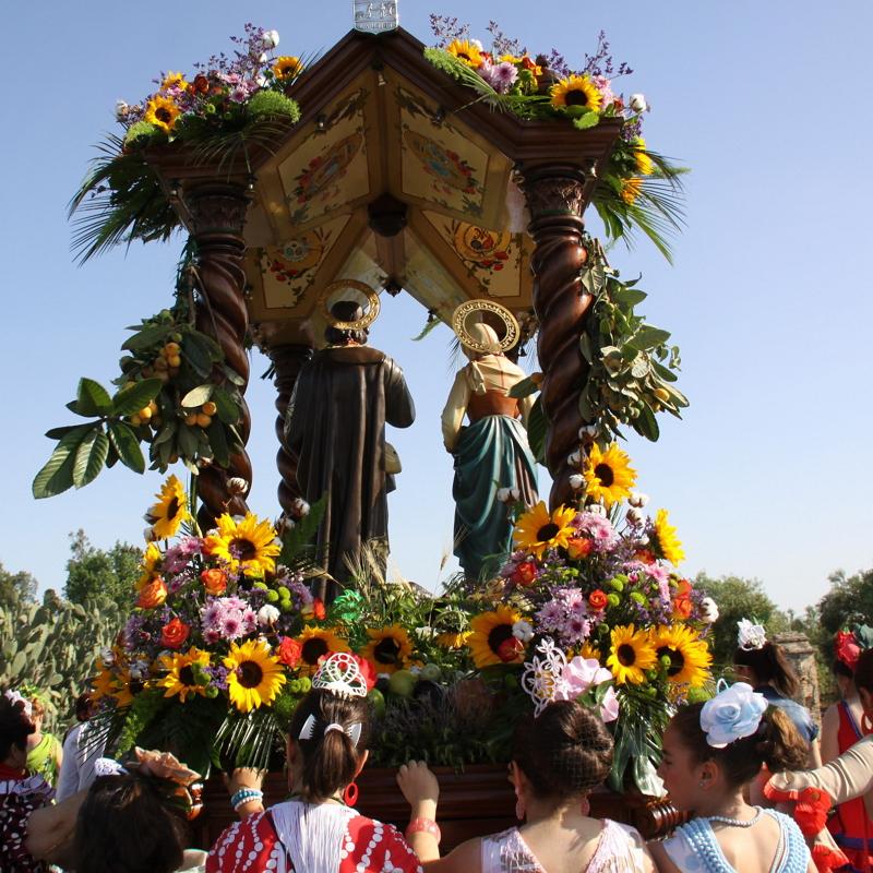 Romería en Honor a San Isidro