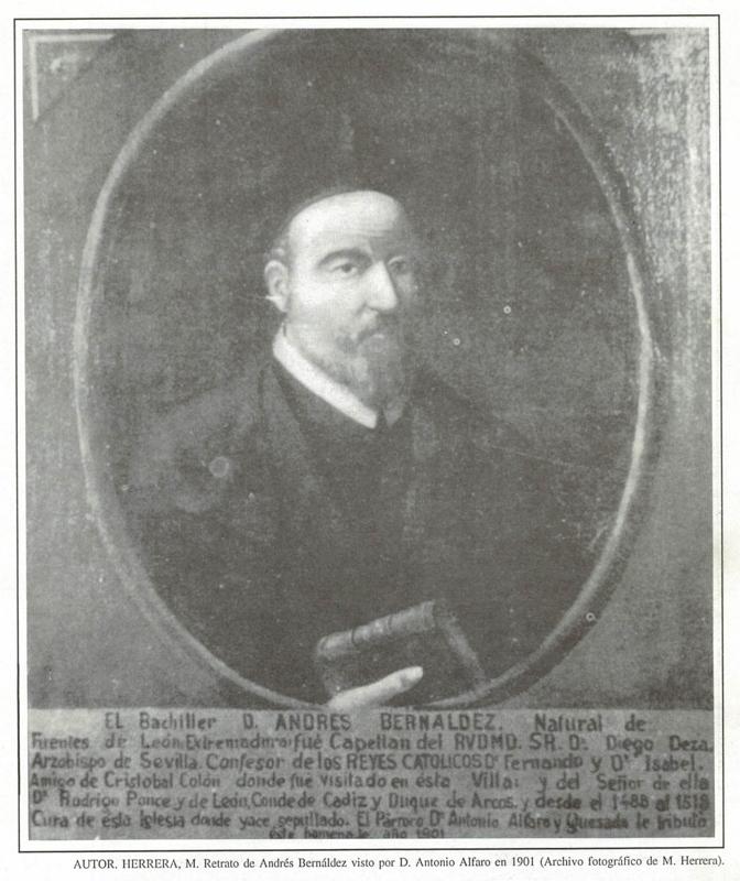 Andrés Bernáldez, el cura de Los Palacios